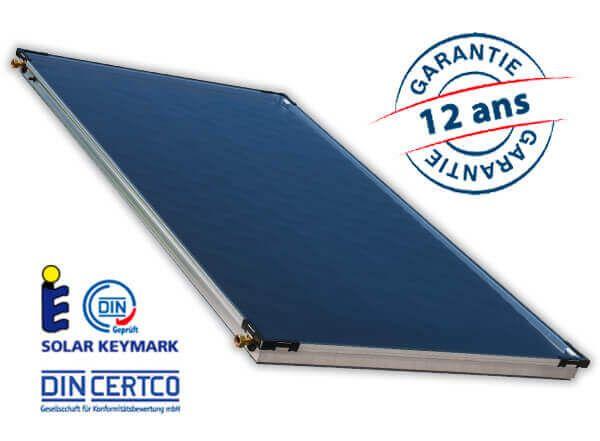 Panneau solaire thermique pour système de chauffage solaire, eau chaude et maison